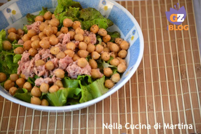 insalata di ceci e tonno ricetta estiva
