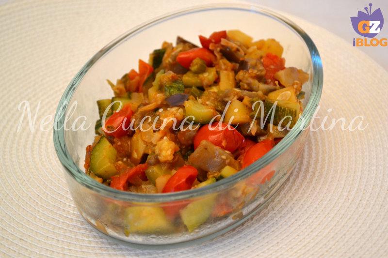 fricassea di verdure blog nella cucina di martina