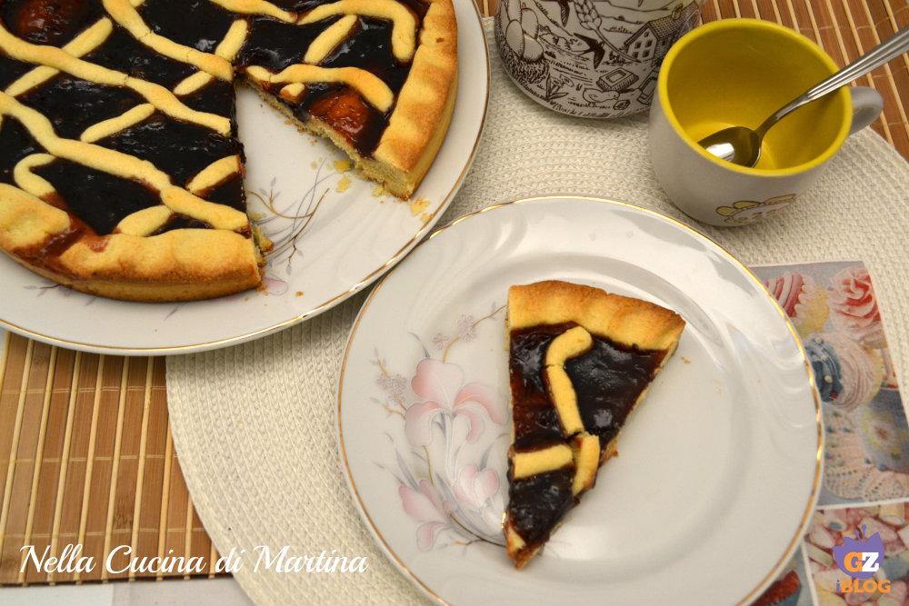 Crostata con marmellata classica ricetta nella cucina di martina