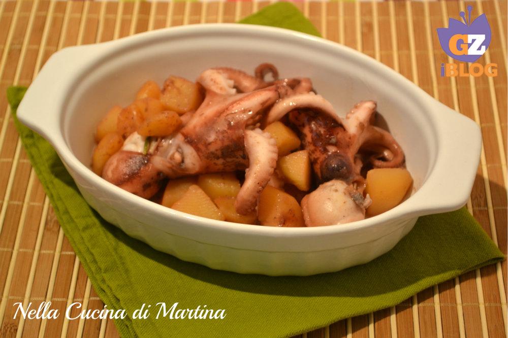 Moscardini alle patate nella cucina di martina blog ricette