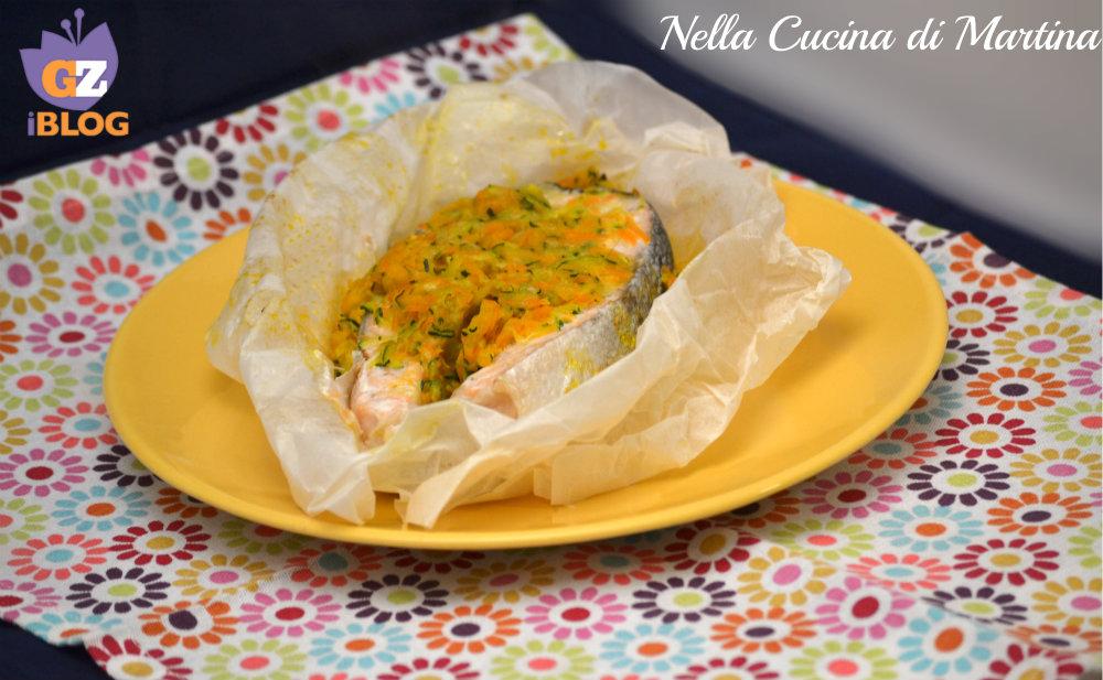 Salmone al cartoccio ricetta nella cucina di martina blog