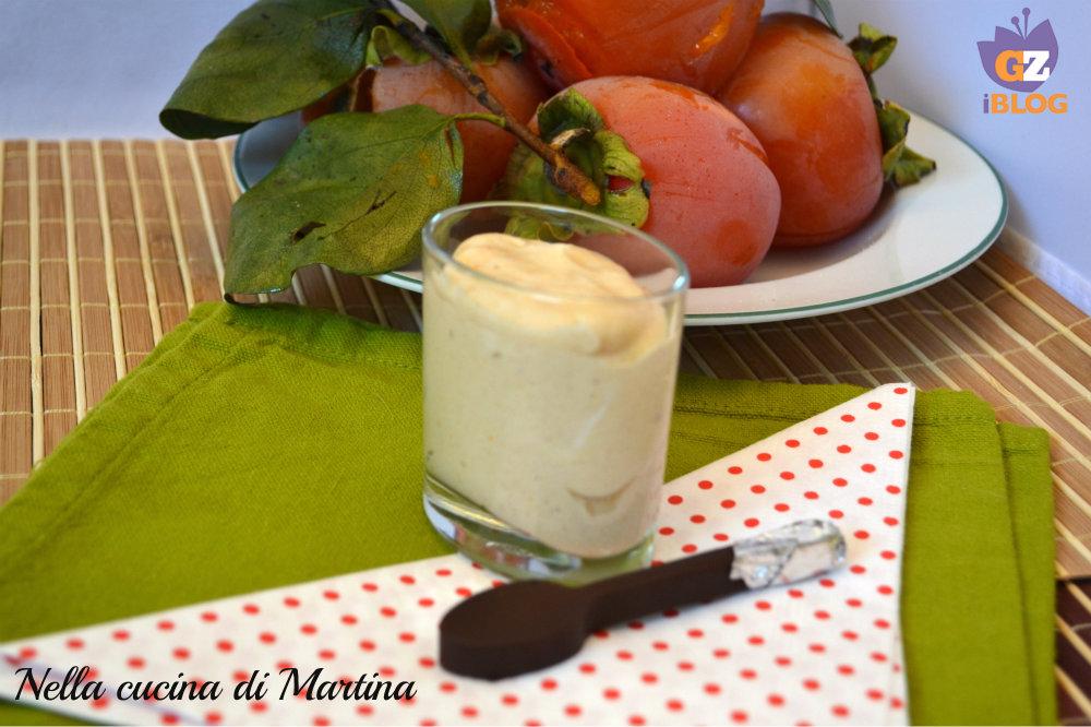 mousse di cachi ricetta semplice nella cucina di martina blog