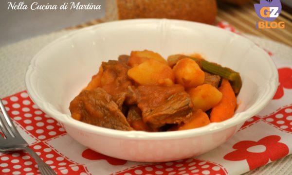 Spezzatino di vitellone con patate