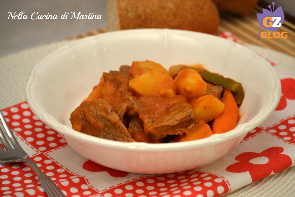 spezzatino di vitellone ricetta nella cucina di martina blog