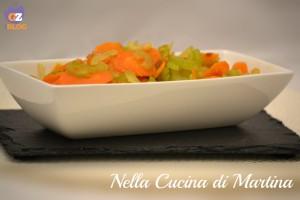 Sedano e carote in padella