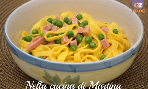 Fettuccine alla papalina, piatto tipico laziale