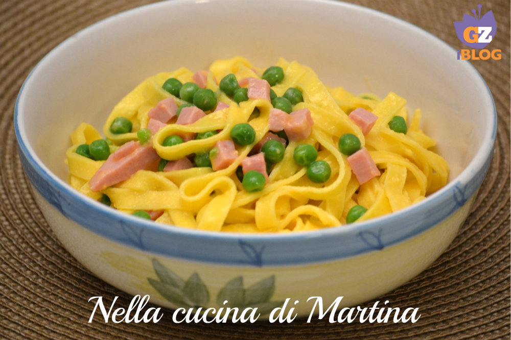 Fettuccine alla papalina piatto tipico laziale - La cucina di martina ...