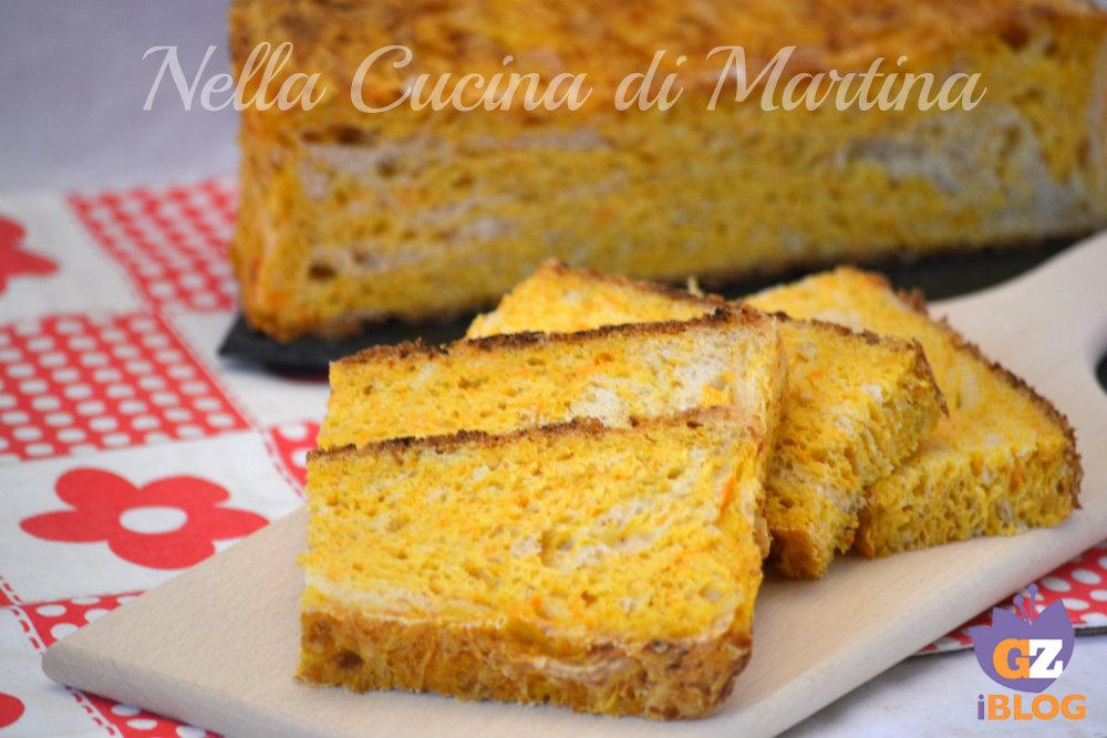 Pancarota ricetta del pane alle carote - La cucina di martina ...