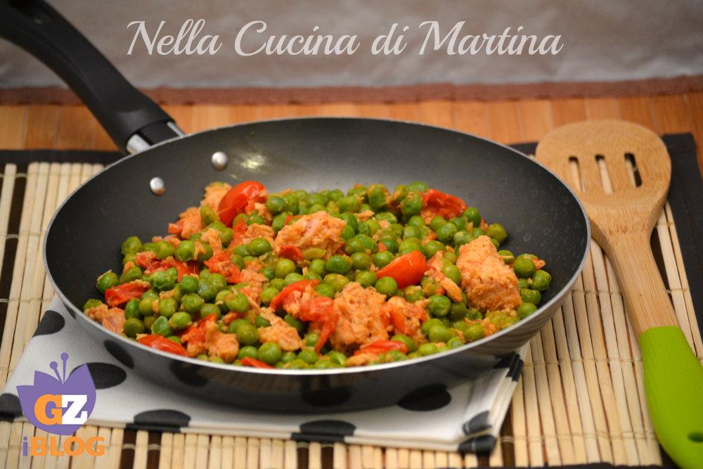 Tonno in padella ricetta nella cucina di martina blog