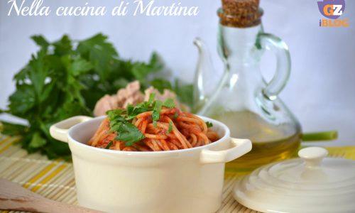 Spaghetti con il tonno proprio come si facevano una volta