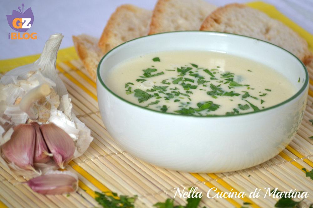 zuppa di aglio ricetta blog nella cucina di martina