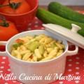 Pasta risottata vegetariana ricetta nella cucina di Martina blog