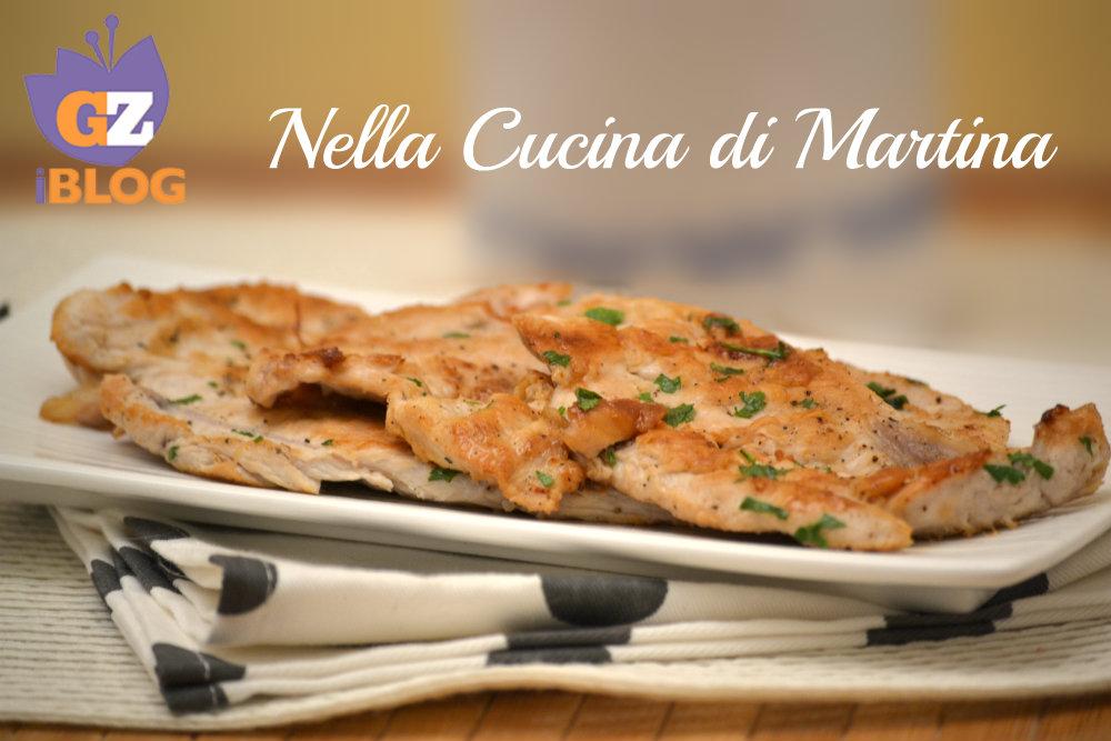 bistecche di tacchino al prezzemolo ricetta nella cucina di martina blog