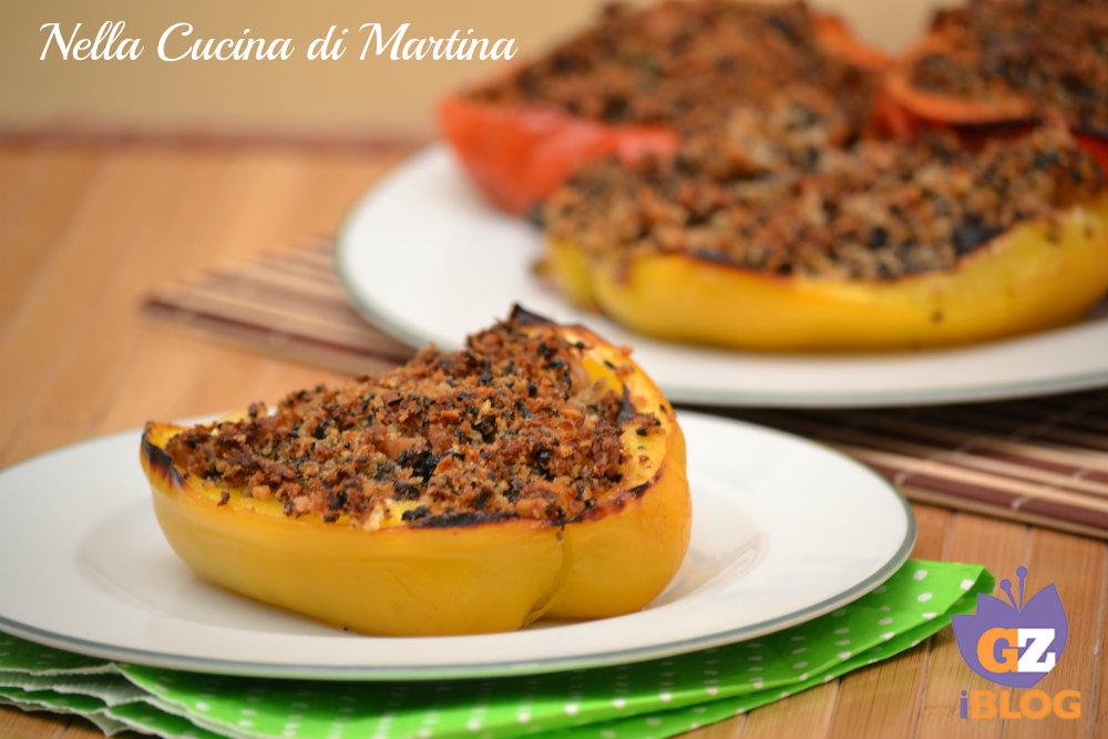 peperoni ripieni ricetta marchigiana nella cucina di martina blog