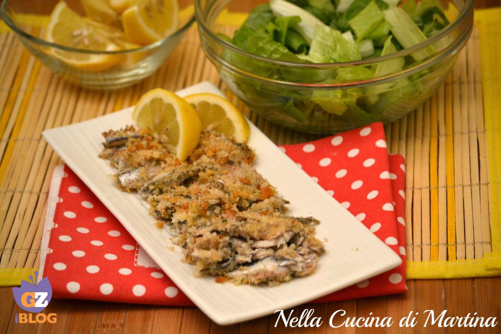 alici al forno ricetta nella cucina di martina blog