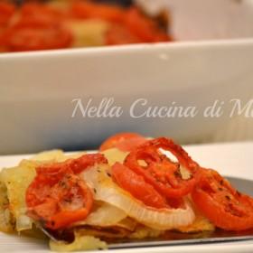 pomodori e patate al forno ricetta