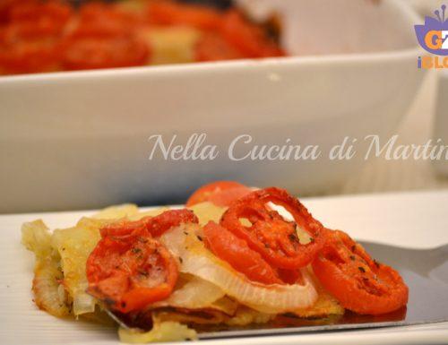 Pomodori e patate al forno