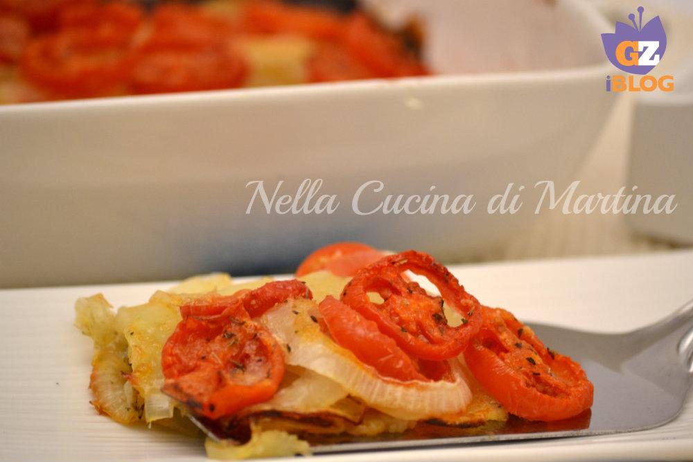 Pomodori e patate al forno - La cucina di martina ...