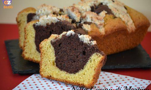Plumcake bianco e nero