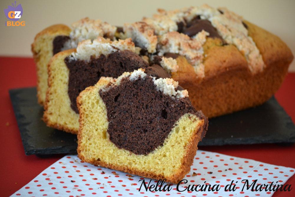 plumcake bianco e nero ricetta nella cucina di Martina blog
