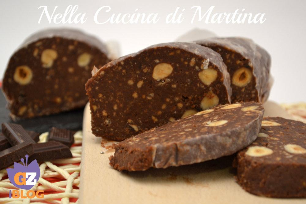 salame di cioccolato ricetta dolce