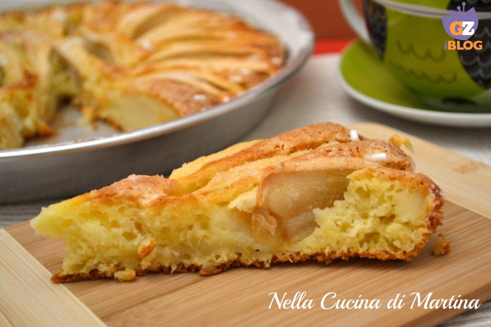 Torta di mele e ricotta ricetta dolce e sfiziosa - La cucina di martina ...