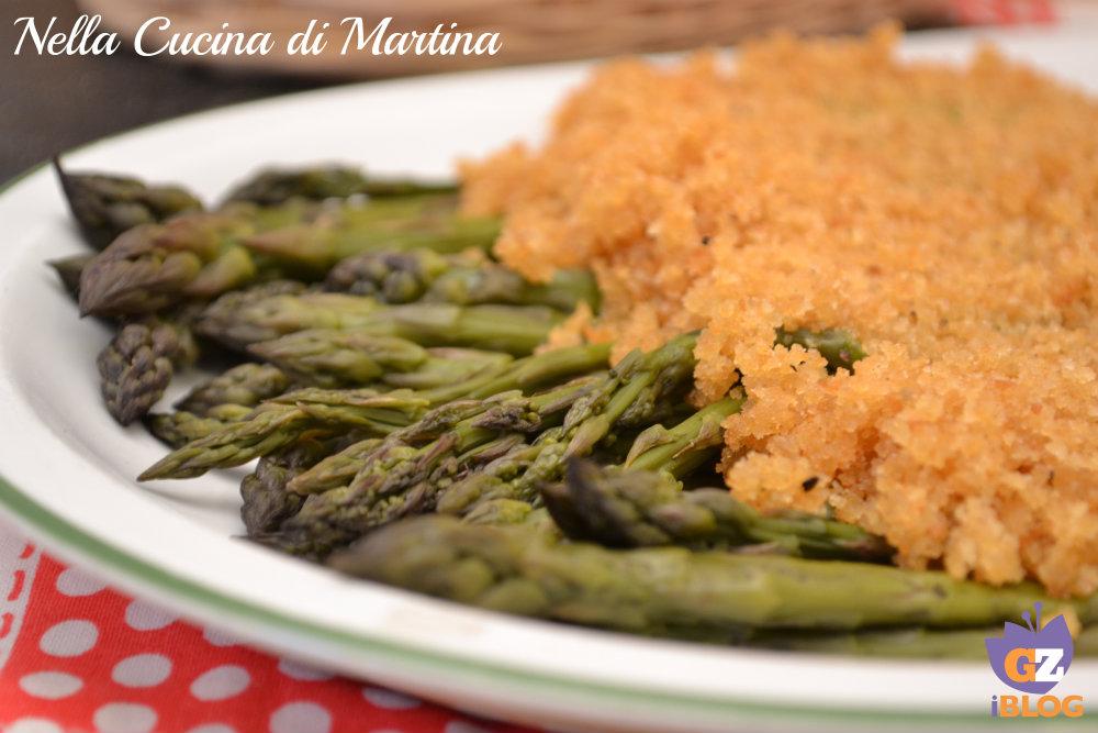 asparagi alla viennese ricetta semplice