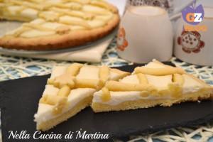 Crostata con crema limone e ricotta