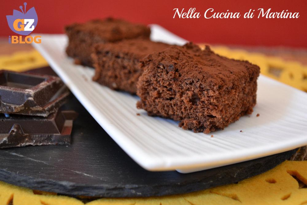 torta al cioccolato e albumi