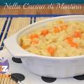 risotto con patate e carote ricetta