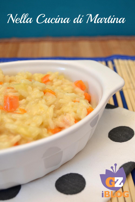 risotto con patate e carote ricetta economica