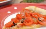 torta salata di pomodori e parmigiano