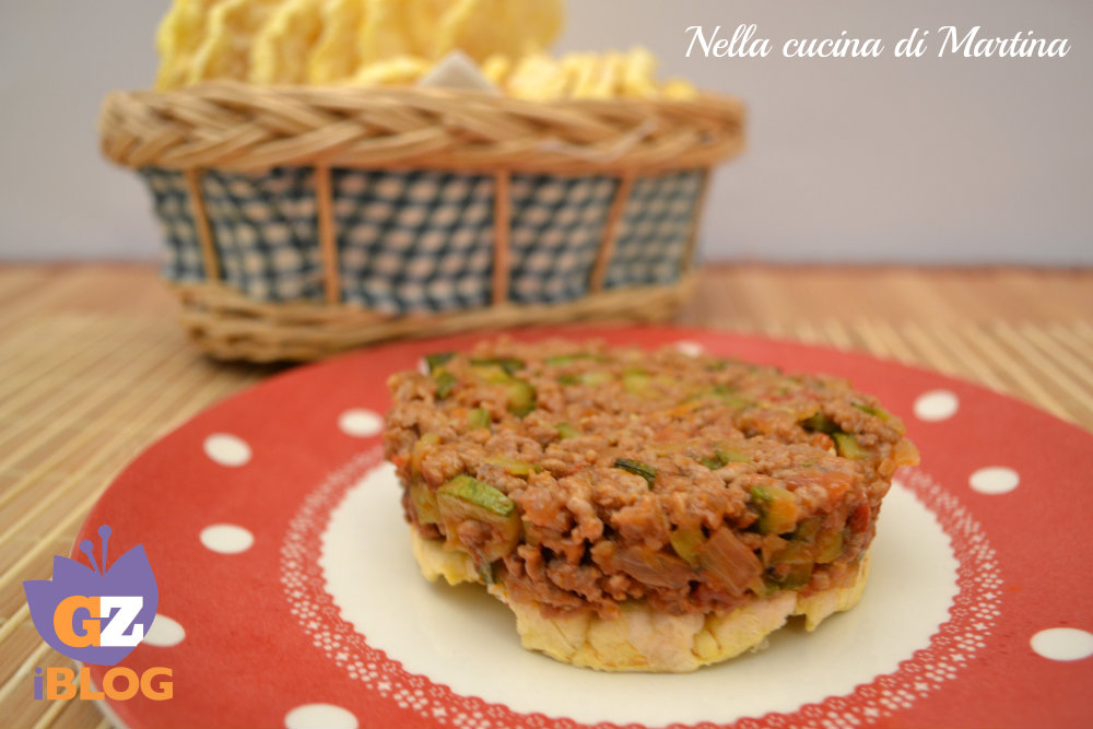 carne macinata con le  zucchine ricetta nella cucina di martina