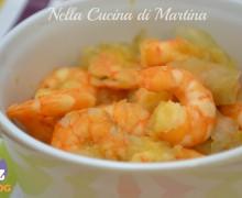 Gamberetti e cipolle, ricetta secondo piatto