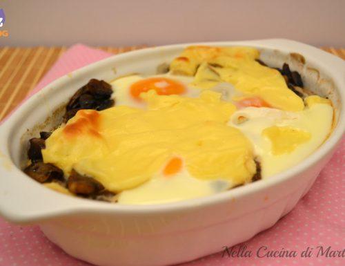 Uova alla boscaiola, ricetta secondo piatto.