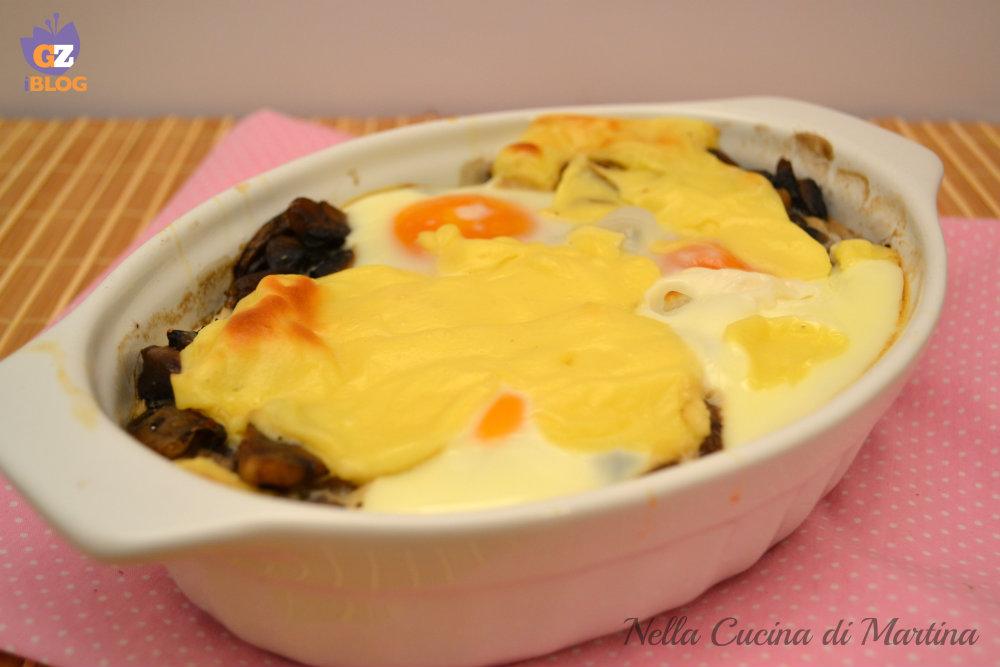 uova alla boscaiola ricetta nella cucina di martina