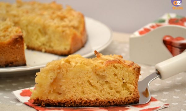 Mele sulla torta