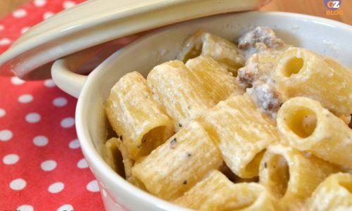 Pasta ricotta e salsiccia