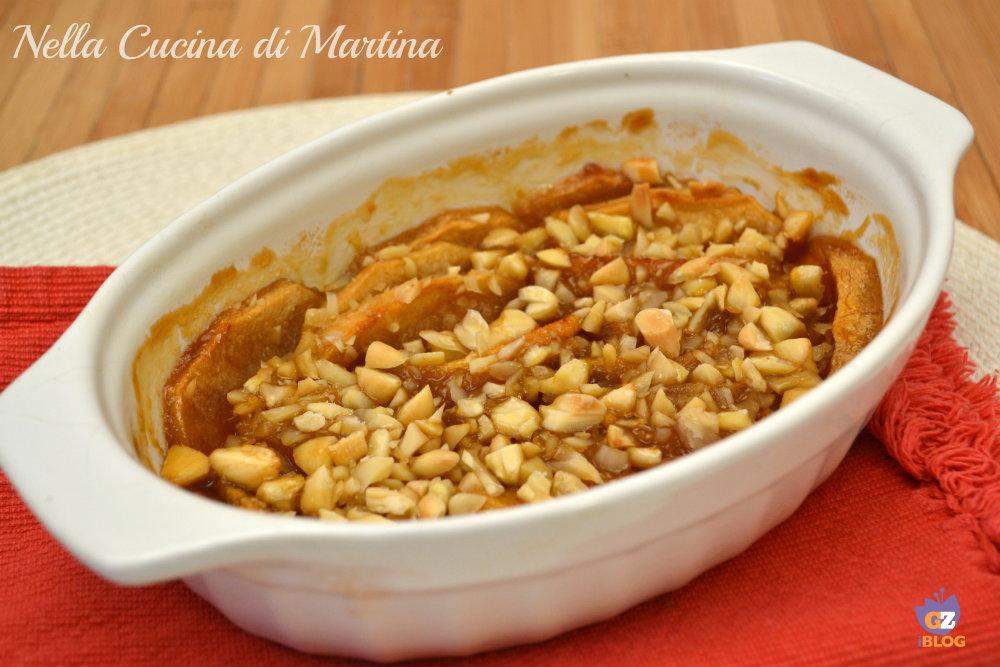 mele cotte alle mandorle ricetta nella cucina di martina