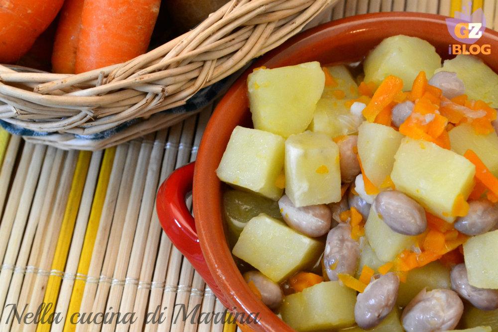 zuppa-di-patate-e-fagioli ricetta