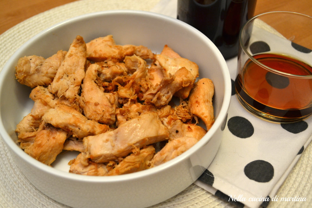 pollo al vin santo ricetta blog nella cucina di martina