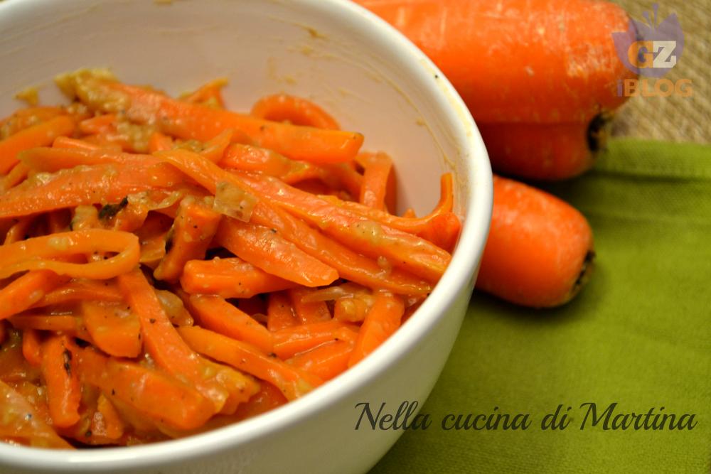 carote glassate ricetta nella cucina di Martina