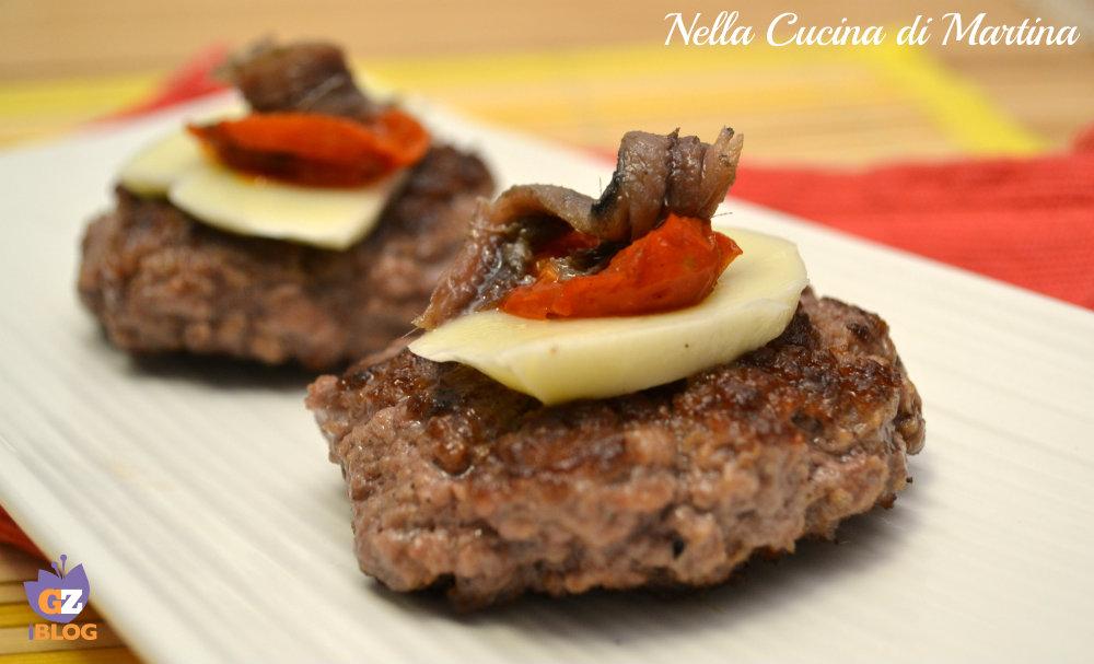 hamburger di manzo ricchi ricetta nella cucina di martina