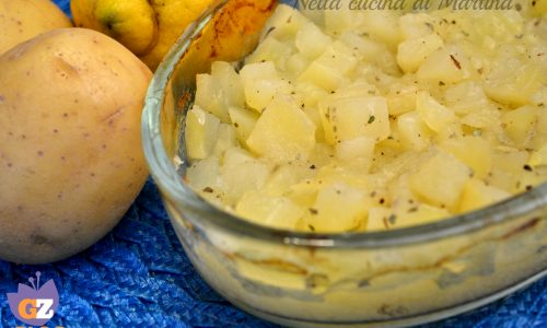 Patate al limone