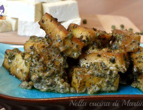 Tofu al pepe verde