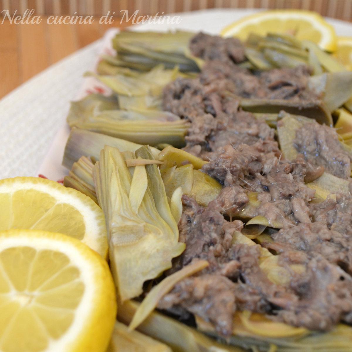 carciofi allinglese ricetta blog
