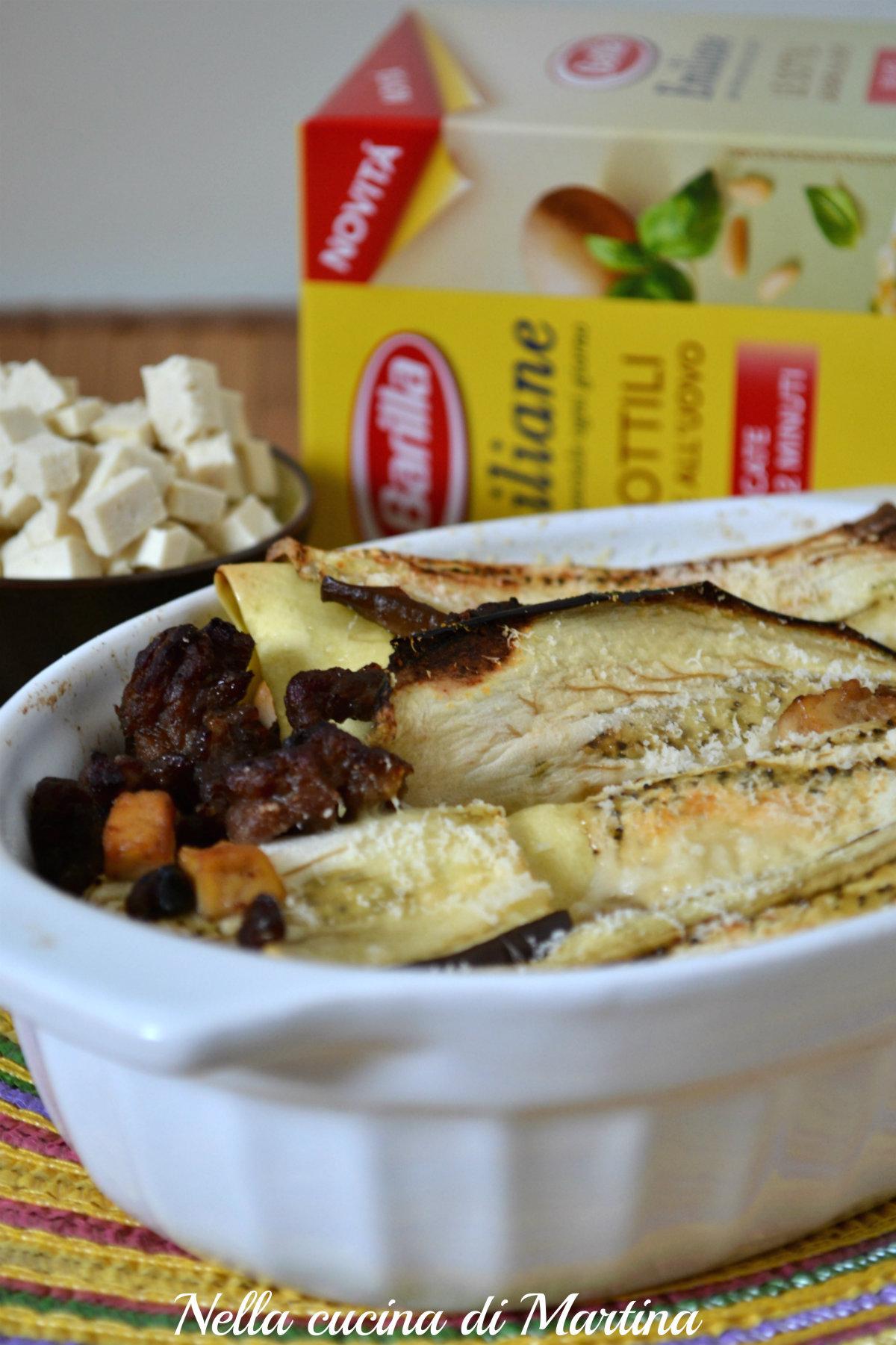 lasagne vestite ricetta