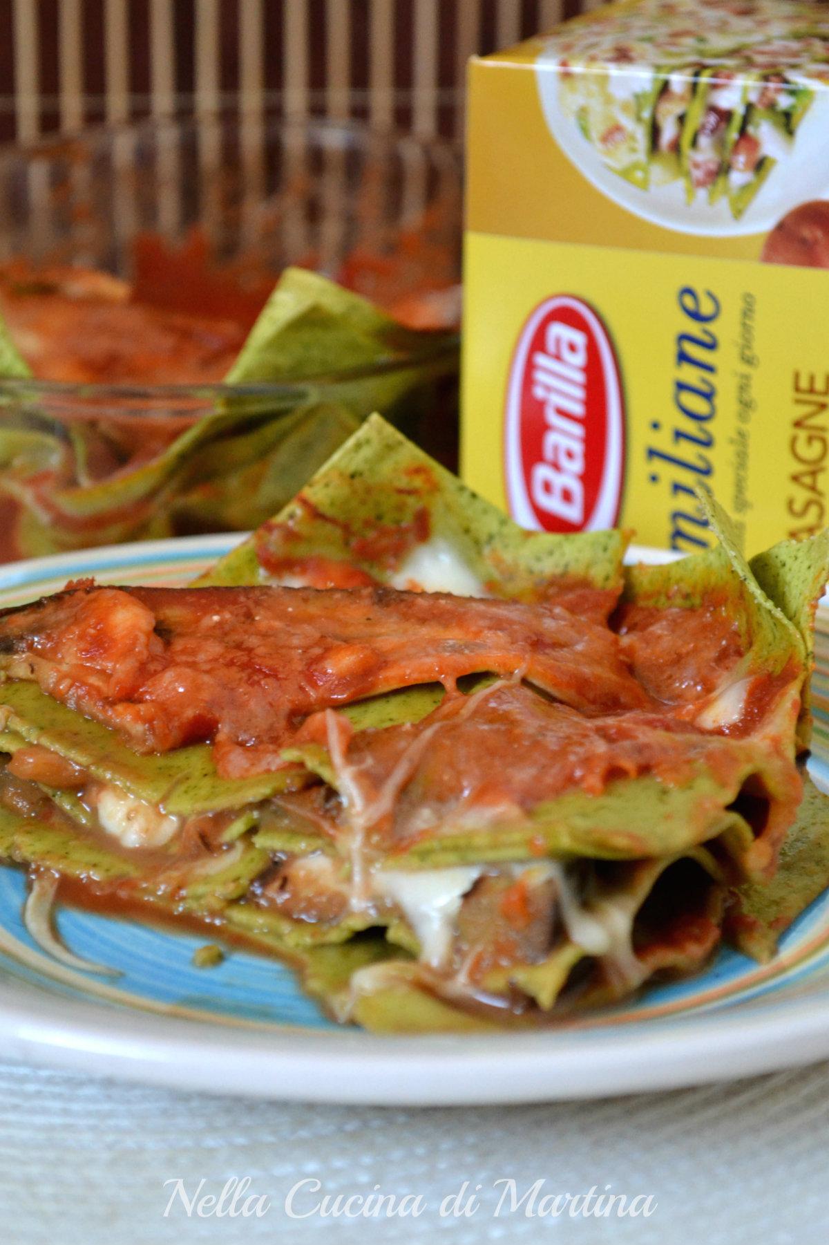 parmigiana di lasagne ricetta