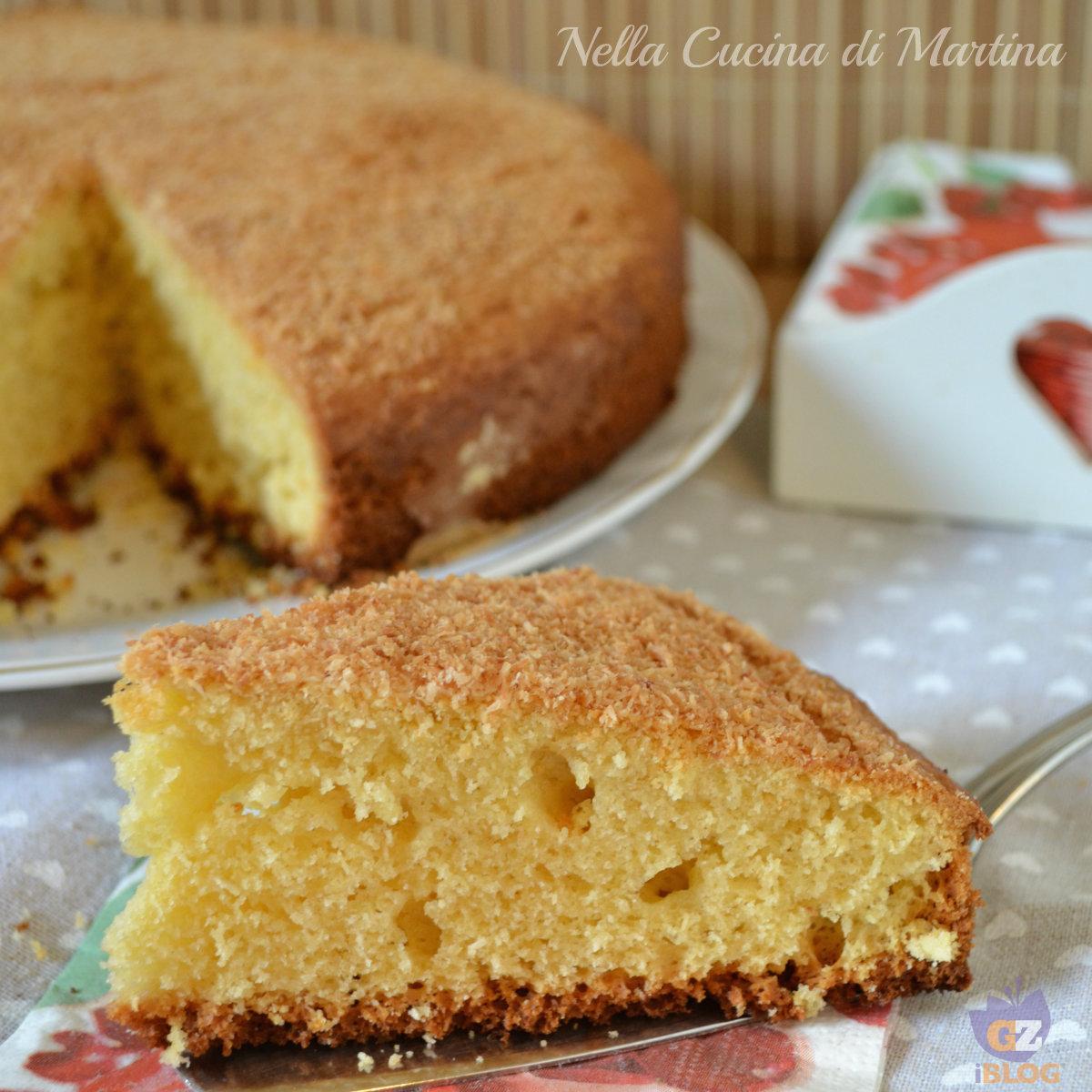 torta al cocco ricetta