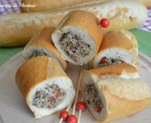 Panini mediterranei (baguette ripiena versione 1)